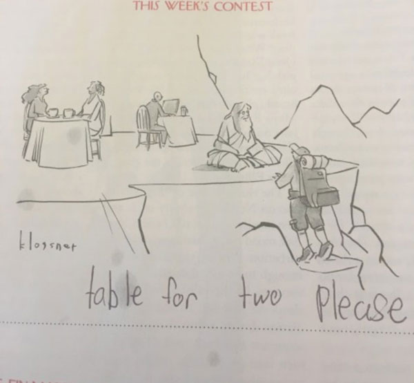 9 year old new yorker comic captions twitter viral 11 This 9 Year Old Girl Loves the New Yorkers Cartoon Caption Contest