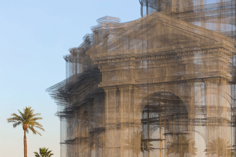 etherea by edoardo tresoldi coachella mesh sculpture 6 The Incredible Wire Mesh Sculptures that Punctuated the Coachella Skyline