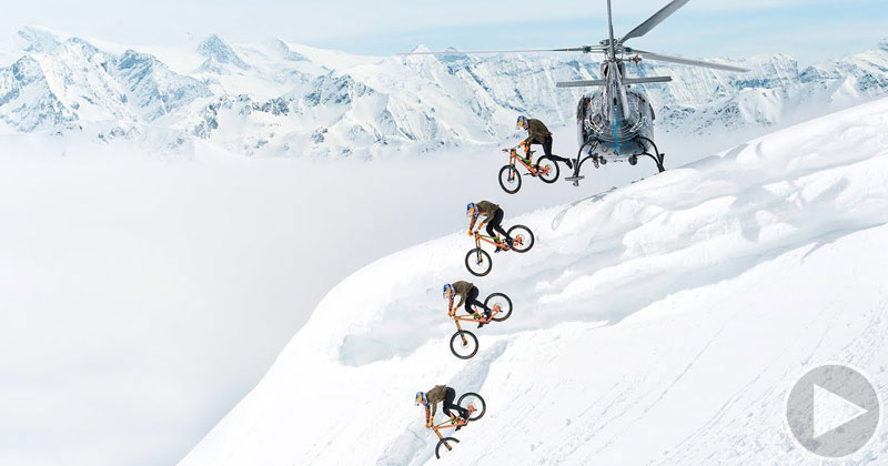 Mountain Biking Down a Ski Mountain is as Badass as it Sounds