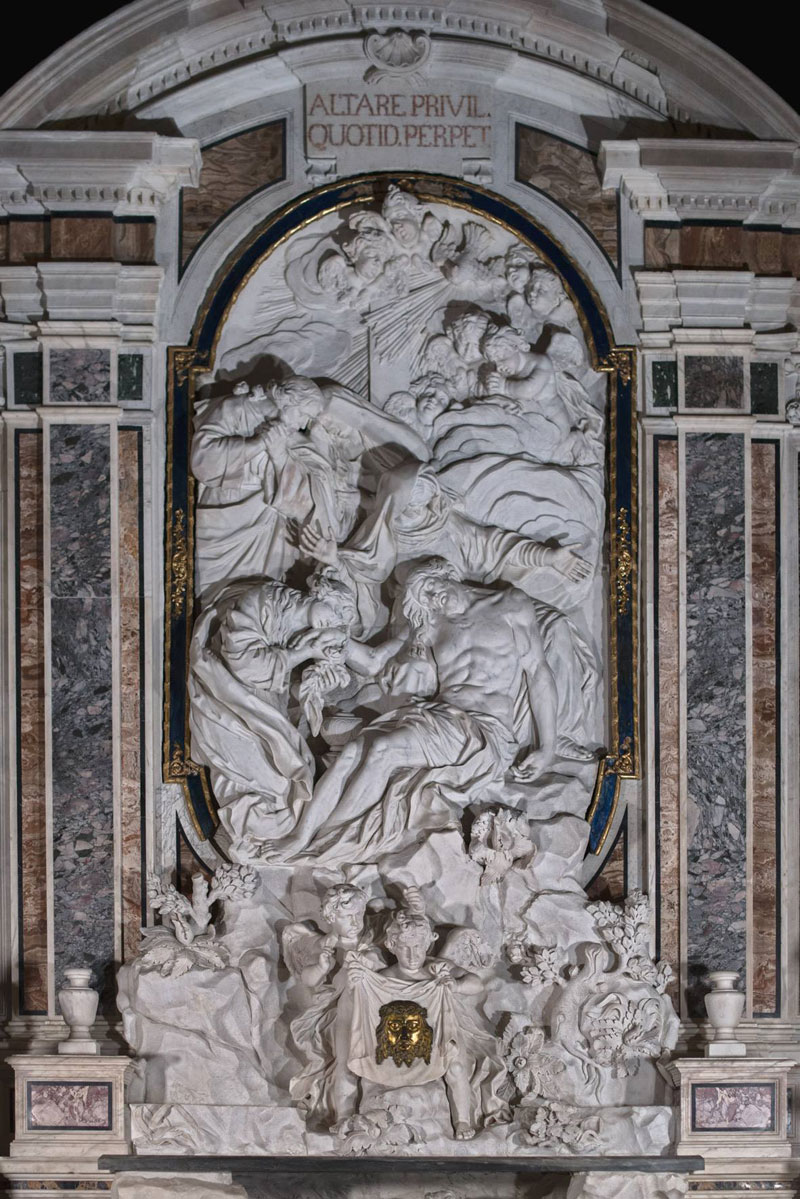 francesco celebrano and paolo persico high altar 1 This Tiny Chapel is Home to Some of the Greatest Marble Sculptures in History