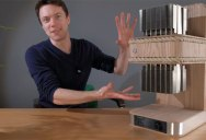 Guy Builds Beautiful PC Out of Rope and Wood