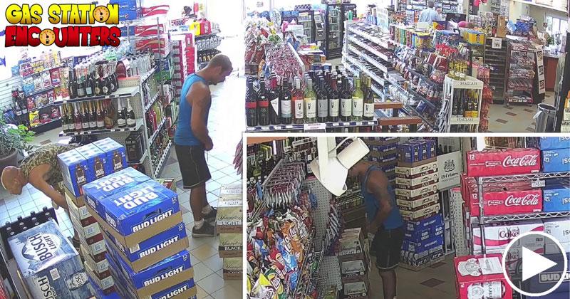 Guy Turns Video of Gas Station Thief Into Vanilla Ice Parody
