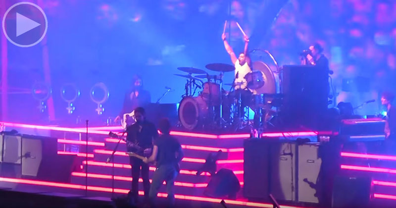 The Killers Brought a Fan on Stage and He Killed It In Front of 65,000 People