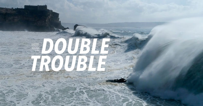 Incredible Drone Footage Captures the Terrifying Intensity of Big Wave Surfing