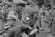 Fascinating HQ Video of Japanese Life from 100+ Years Ago