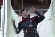 Guy Takes Every Dr. Strange Green Screen Clip He Can Find and Edits Him Into a Waterpark