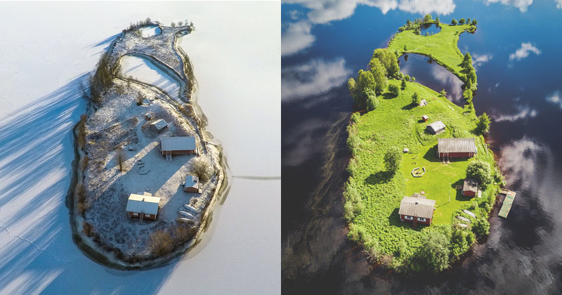 The Life of a Finnish Island as Told Through the Seasons