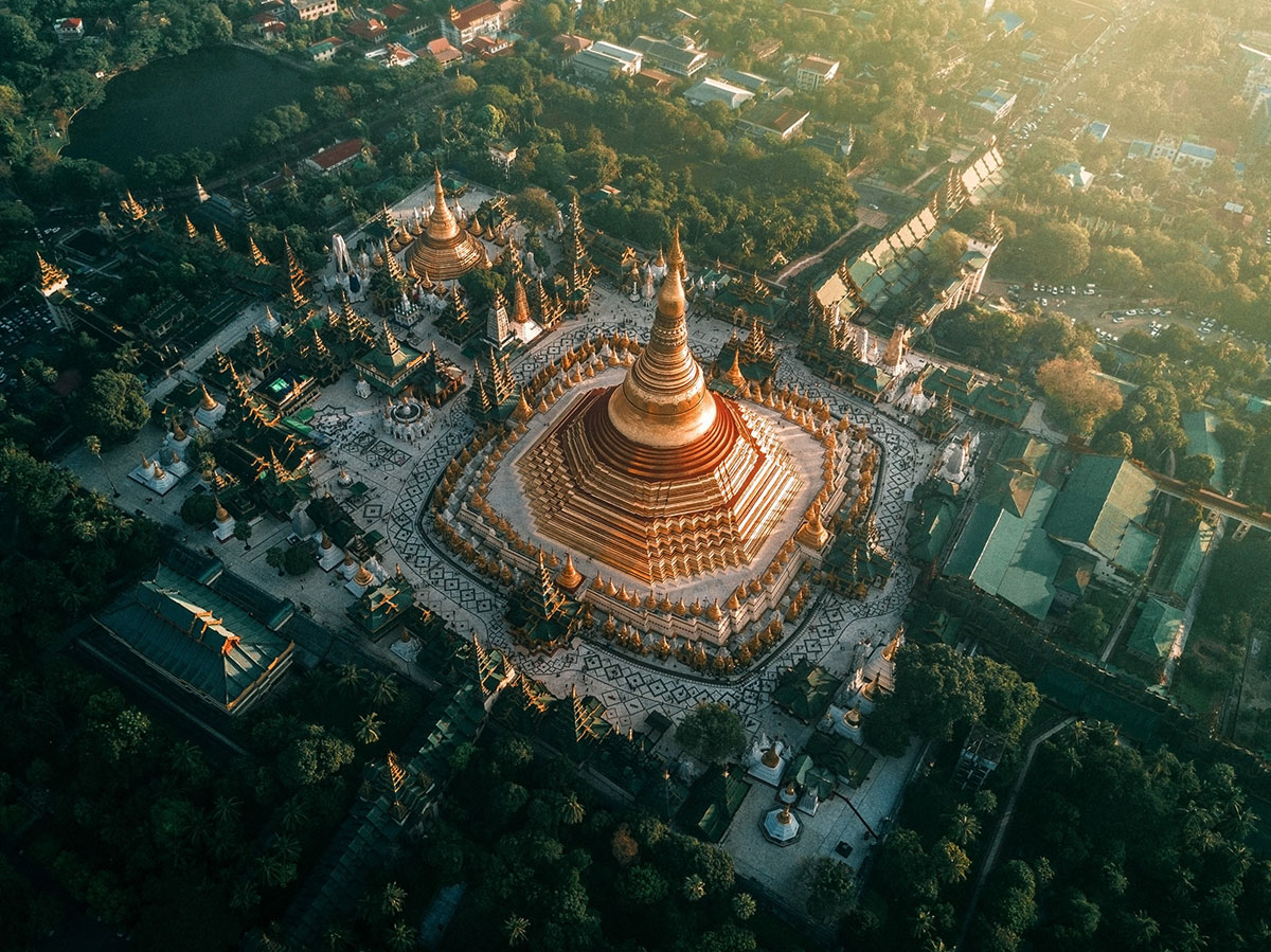 myanmar temples from above by dimitar karanikolov 5 The Amazing Temples of Myanmar from Above (10 Photos)