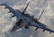 Russian Fighter Pilot Shows Off for Crowd With Amazing Flying Demo