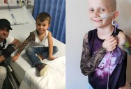 Artist Gives Kids Temporary Tats to Try to Make Hospital Life More Fun