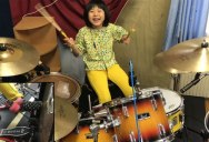 This 8 Year Old Drummer Slaying Zeppelin is Giving Me Life