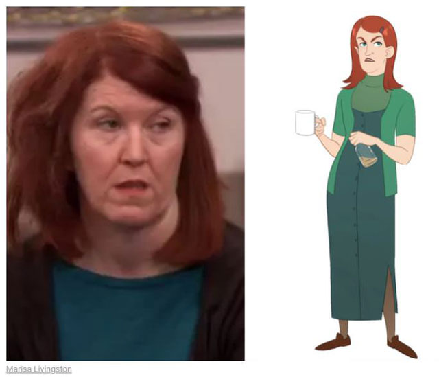 cast of the office as cartoon characters by marisa livingston 13 What Each Character Would Look Like in a Cartoon Version of The Office