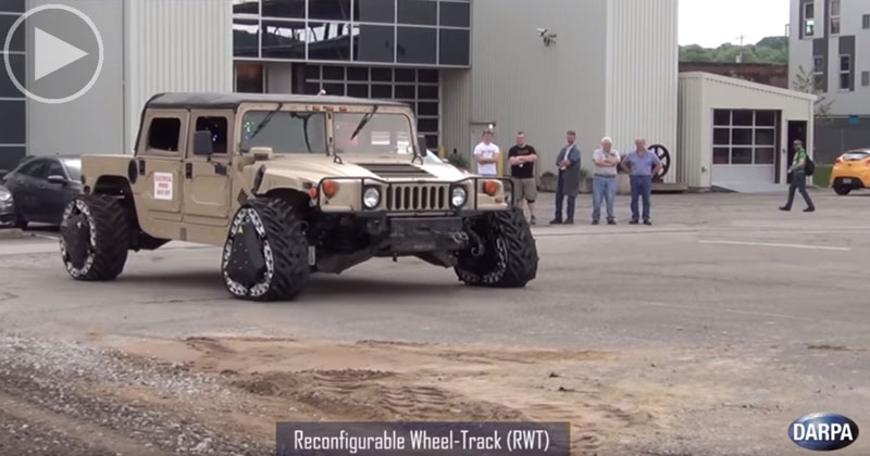 DARPA Engineers are Reinventing the Wheel with Shapeshifting Tires