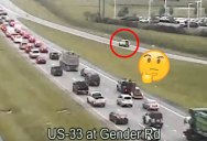 Traffic Camera Captures Most Absurd Reverse Driving Ever