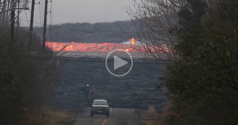 I Had No Idea Lava Could Flow This Fast