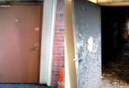 The Importance of a Fire Door in One Image