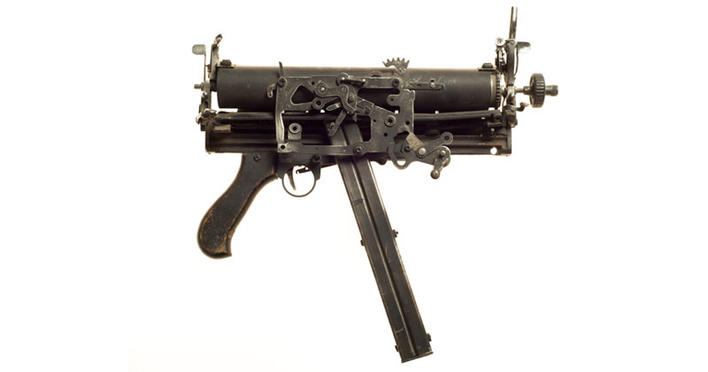 Sculptural Guns Made from Typewriters Because Words are Mightier