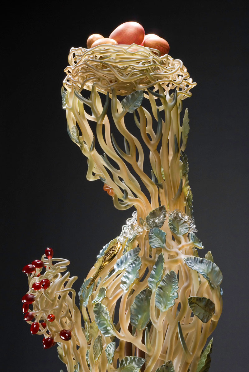 glass sculptures by janis miltenberger 1 Some of the Most Intricate and Beautiful Glass Sculptures You Will See