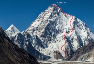 First Descent: Polish Mountaineer Andrzej Bargiel Skies Down From the Top of K2