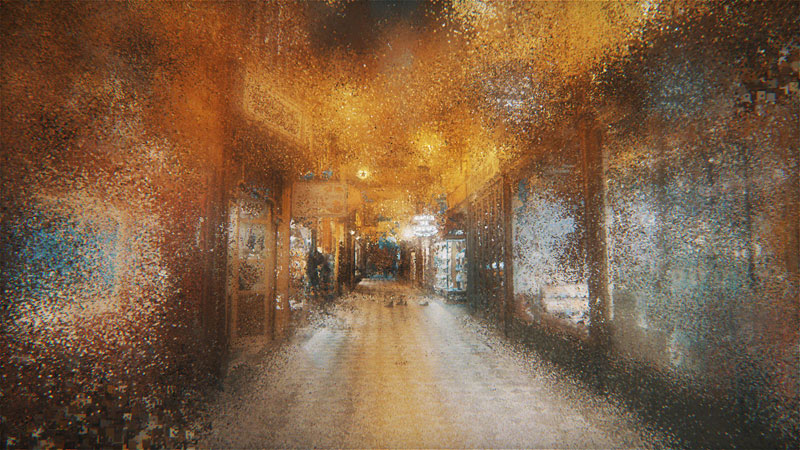 paris wandering by benjamin bardou 12 An Artists Dreamlike Stroll Through the Streets of Paris