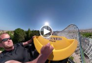 If You Stabilize a Roller Coaster Ride It Looks Really Weird and Trippy