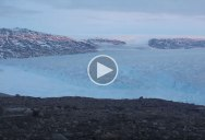 Timelapse Shows 10 Billion Tons of Ice Calving Off a Glacier in Greenland
