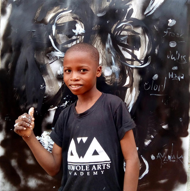 11 year old hyperrealist artist kareem waris olamilekan waspa nigeria 5 11 Year Old Hyperrealist from Nigeria Wows With Stunning Artworks