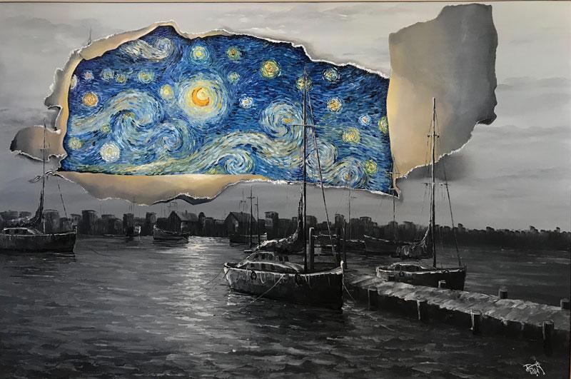 best starry night mashups 11 The 10 Best Starry Night Mashups on the Web