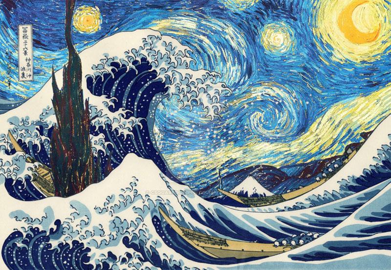 best starry night mashups 9 The 10 Best Starry Night Mashups on the Web
