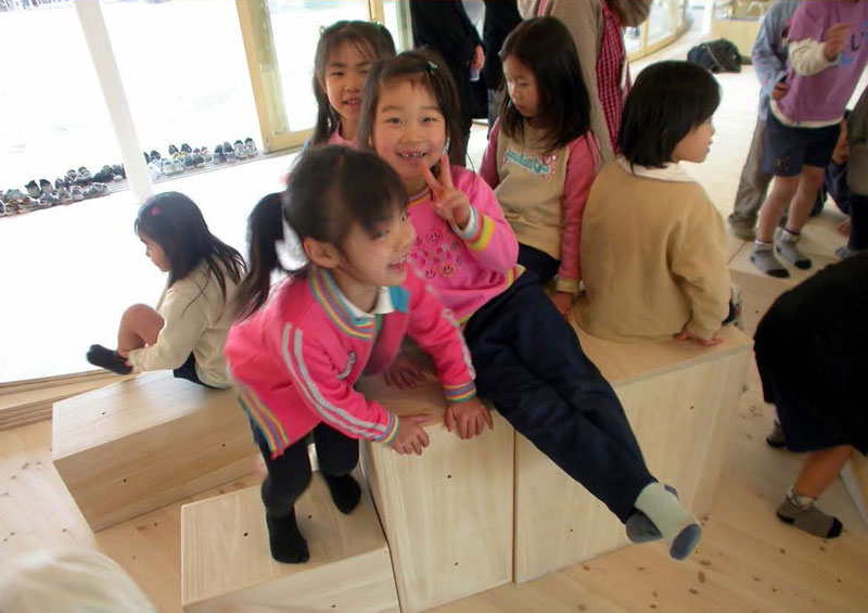 coolest kindergarten ever tezuka architects japan 3 A Japanese Architecture Firm Designed the Coolest Kindergarten Ever