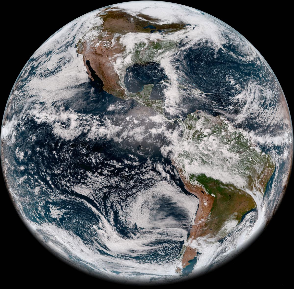 full disk image of earths western hemisphere taken may 20 2018 2 Full Disk Image of Earths Western Hemisphere Taken May 20, 2018