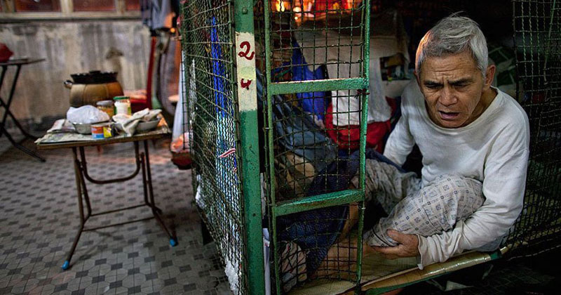 Inside Hong Kong's Shocking Cage Homes