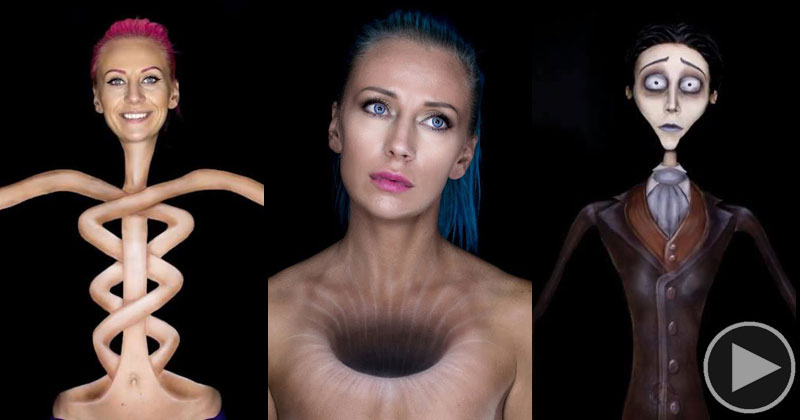 Makeup Artist Mirjana Kika Milosevic Can Transform Herself Into Anything