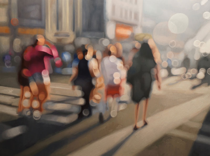 painter philip barlow captures what the world looks like to people with blurry vision 4 Painter Captures What the World Looks Like to People With Blurry Vision