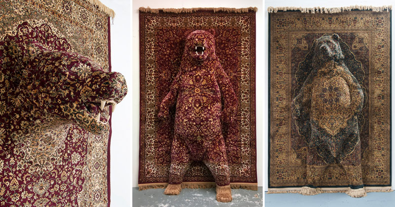 These Persian Bear Rugs Are Awesome and I Want Them