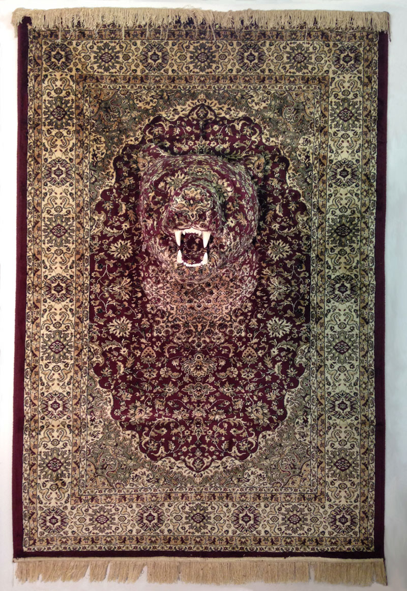 persian bear rugs by debbie lawson 6 These Persian Bear Rugs Are Awesome and I Want Them