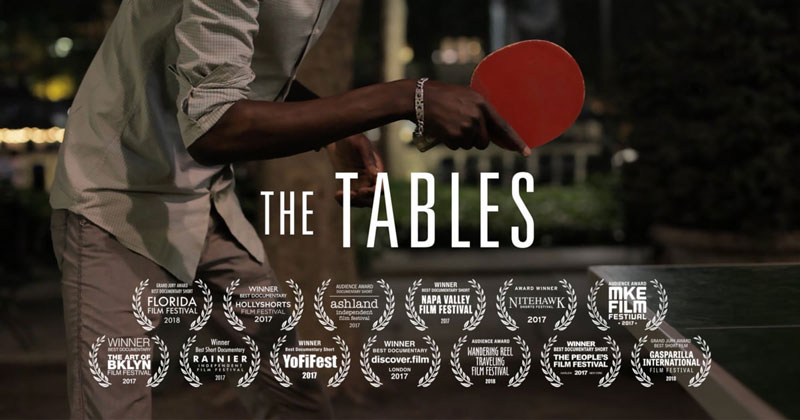 The Beautiful Way Two New York Ping Pong Tables Bring People Together