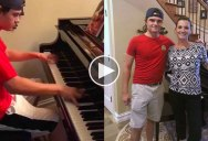 Pizza Delivering Teen Stuns Family With Beethoven's Moonlight Sonata