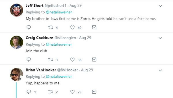 twitter last name problems wiener 12 When Your Name Is Too Rude for a Websites Algorithm