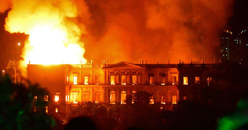 Brazil Suffers Incalculable Cultural Loss as 200-Year-Old Museum Burns