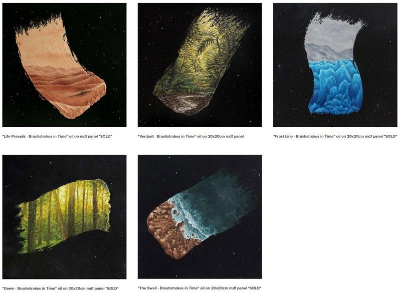 brushstrokes in time by david ambarzumjan 3 Brushstrokes in Time by David Ambarzumjan