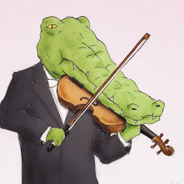 crocodile music problems by keigo 3 Crocodile Music Problems (5 Examples)