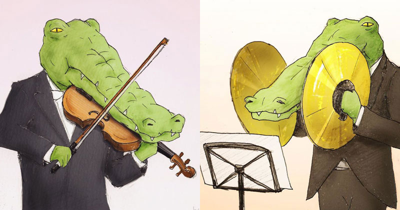 Crocodile Music Problems (5 Examples)