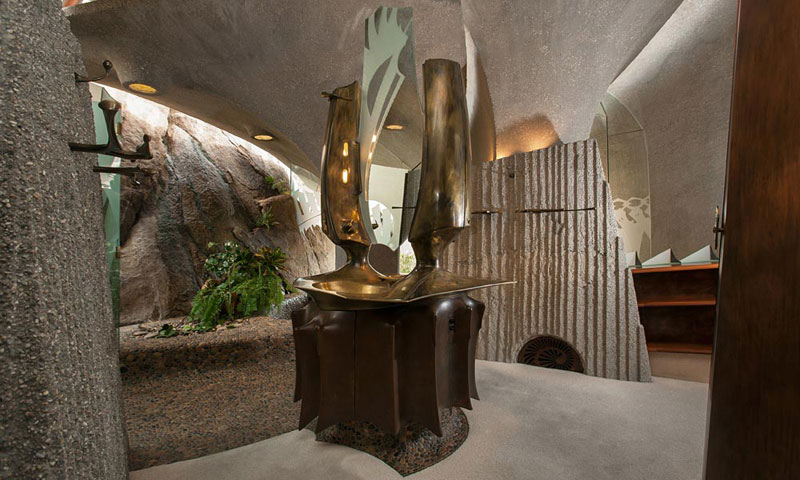 desert house by ken kellogg john vugrin 18 This Organic Desert House in Joshua Tree, CA is at One With Its Environment