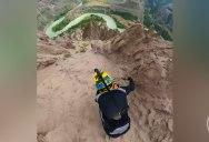 Crazy POV of Pro Rider Kilian Bron Descending Farwell Canyon