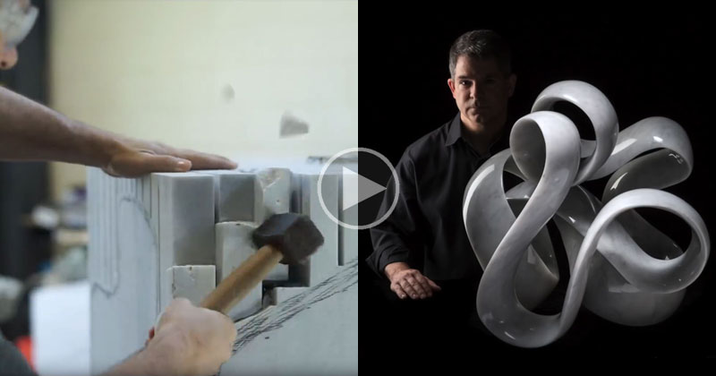 The Incredible Process of Turning a Block of Marble Into a Work of Art