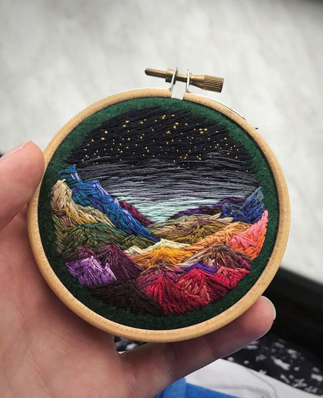 needle painting embroidery by vera shimunia 11 The Amazing Needle Painting of Vera Shimunia (15 Photos)