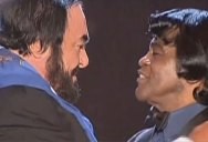 That Time Pavarotti and James Brown Got Together For an Unforgettable Duet