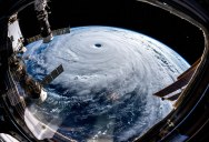 Alexander Gerst Captured Some Incredible Shots of Typhoon Trami from Space