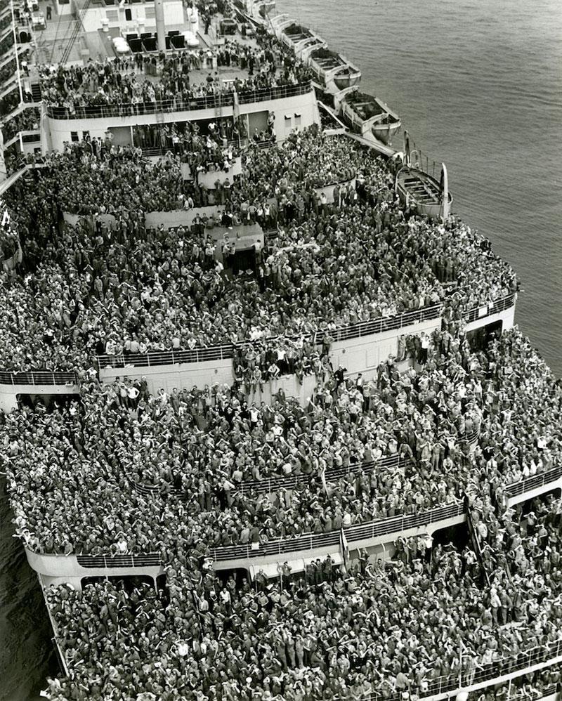 Official U.S. Navy photo via the New York Historical Society